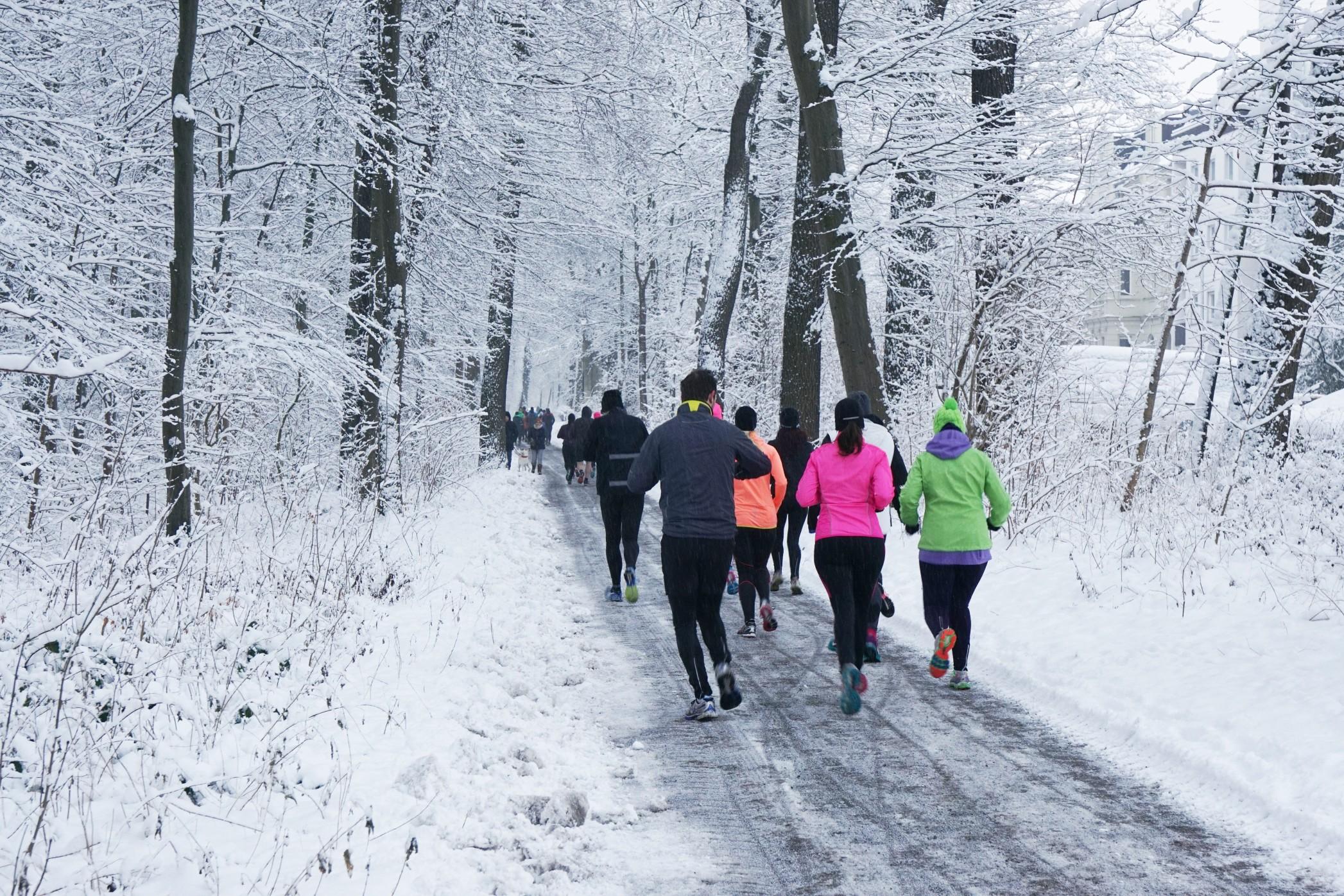 Bieganie zimą - jak biegać na mrozie? - mgr Fryderyk Festiwal - blog osobisty